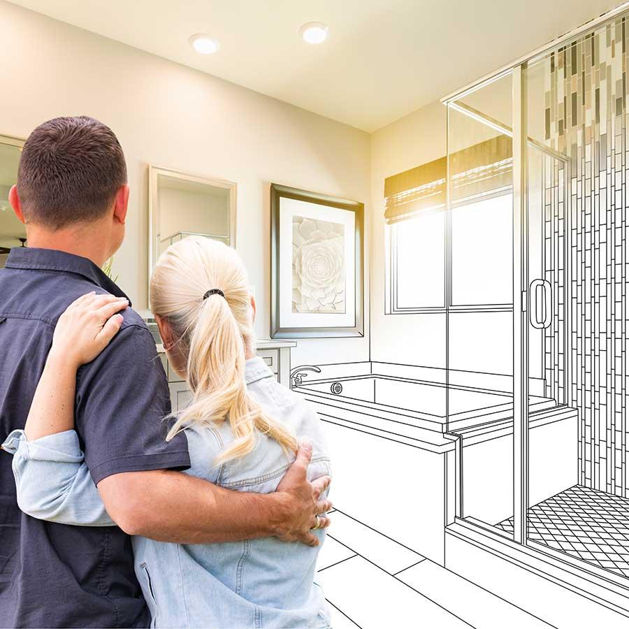 Vest Badezimmer - gemeinsame Planung