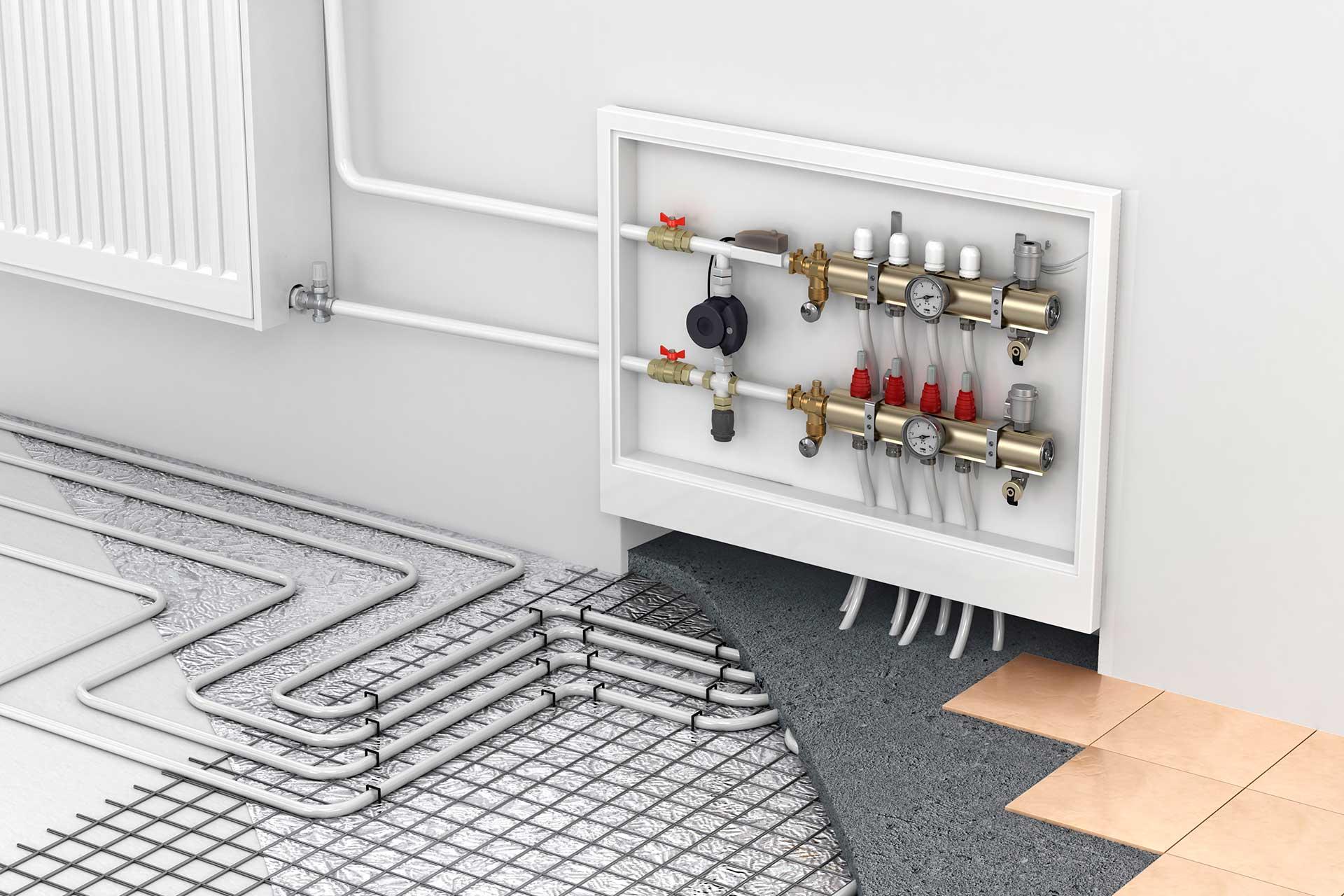 Vest Haustechnik - moderne Fußbodenheizung in Dorsten